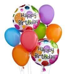 Bappy Birthday Balloon Bouquet Balloons