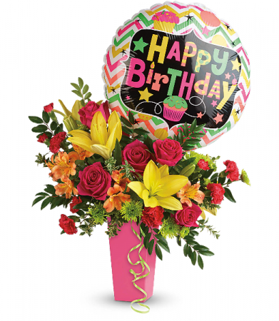 Birthday Bash Bouquet HBC041B