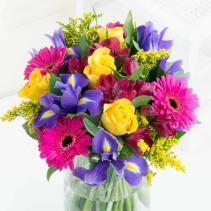 birthday bash fresh flowers