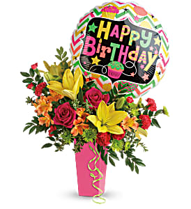 Birthday Bash  TBC04-1A With Mylar