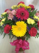 Birthday Bash Vase Arrangement