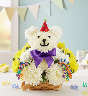 Birthday Beary™  in Valley City, OH | HILL HAVEN FLORIST & GREENHOUSE