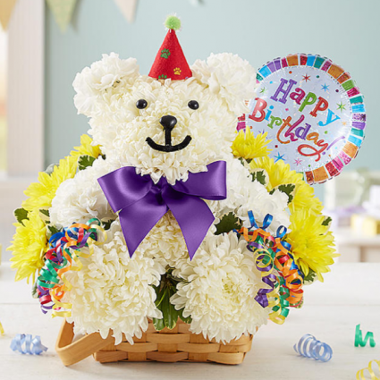 Birthday Beary™ Arrangement