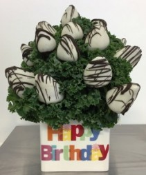 Birthday Berries Edible Bouquet - Please give us 24 hr notice