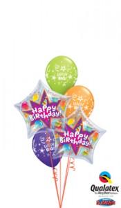 Birthday Blast balloons