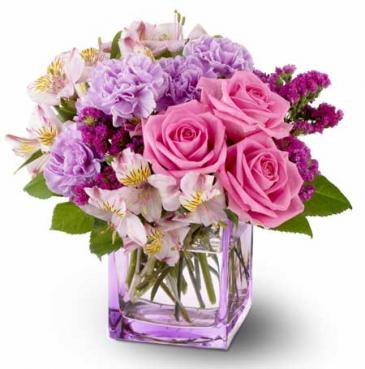 Birthday Bliss Floral Arrangment