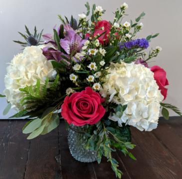 Birthday Blooms Fresh Arrangement