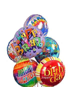 Birthday bouquet  Mixed birthday Mylar