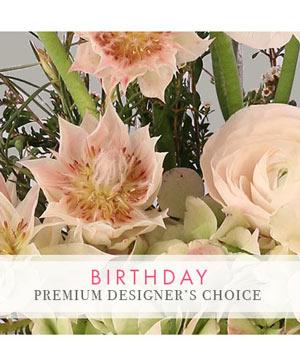 Birthday Bouquet Premium Designer's Choice in Burlington, VT | Kathy + Co Flowers