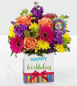 Birthday Bright  in Bellefonte, PA | A Flower Basket