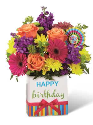 Birthday Brights  in Fort Collins, CO | D'ee Angelic Rose Florist