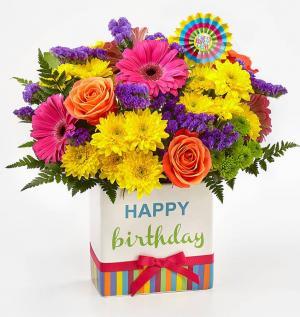 Birthday Brights Bouquet BD2D in Orlando, FL | Artistic East Orlando Florist