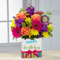 Birthday Brights Designer Arrangement