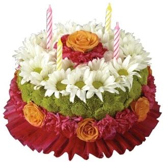BIRTHDAY BRILLIANCE CAKE In Garrett Park MD