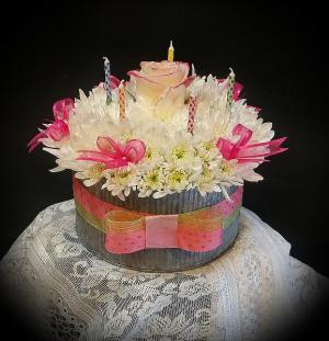 Birthday Cake   in Fowlerville, MI | ALETA'S FLOWER SHOP