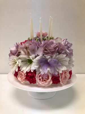 Birthday Cake Happy Flowers Webster Tx La Mariposa