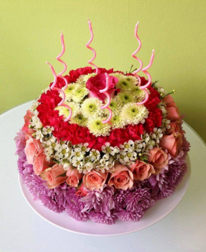Birthday Cake   in Winnipeg, MB | THE FLOWER LADY