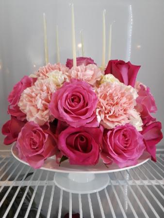 Birthday Cake Arrangement Birthday