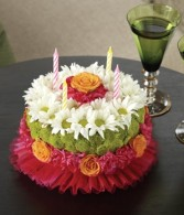 Birthday Cake Arrangement Fresh Arrangement