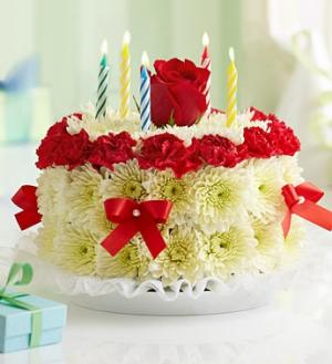 Birthday Cake Birthday in Maryland Heights, MO | MARYLAND HEIGHTS FLORIST