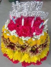Birthday Cake Flowers  in Bronx, New York | ALTA FLORISTERIA
