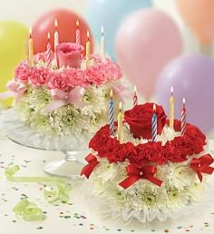 Birthday Cake Flowers In Oakdale Ny Posh Floral Designs Inc