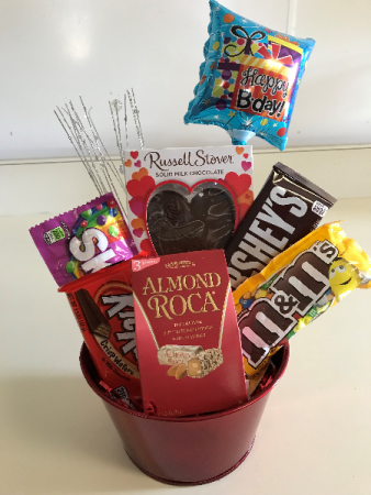 Birthday Candy Arrangement In Monticello IN