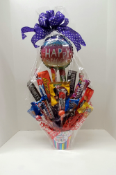 Birthday Candy Bouquet candy bouquet