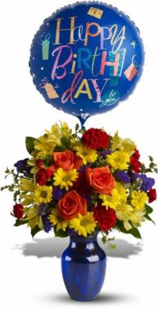 Birthday Celebration Bouquet  Birthday