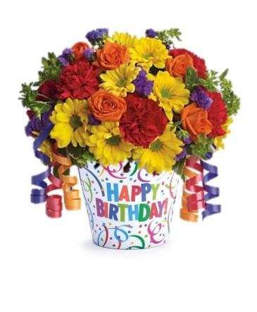 Birthday Celebration Floral Bouquet