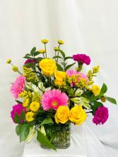 Birthday Celebrations  Floral Arrangement