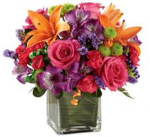 Birthday Cheer Bouquet Home