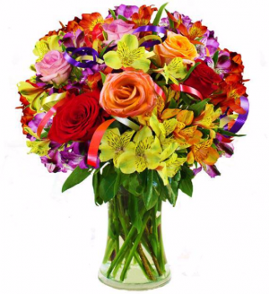 Birthday Cheers! Arrangement in Lexington, NC | RAE'S NORTH POINT FLORIST INC.