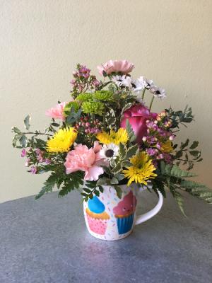 Birthday Confetti Mug  in La Grande, OR   FITZGERALD FLOWERS