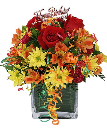 Birthday Dazzle Bouquet