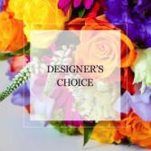 BIRTHDAY DESIGNER'S CHOICE IN VASE