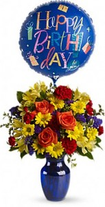 Birthday Fireworks Birthday Flower Delivery Yonkers in Yonkers, NY | YONKERS FLORIST- BELLA'S FLOWER SHOP