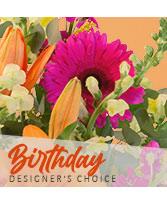 Birthday Flowers Designer's Choice in Salt Lake City, Utah | GALLERIA FLORAL & DESIGN