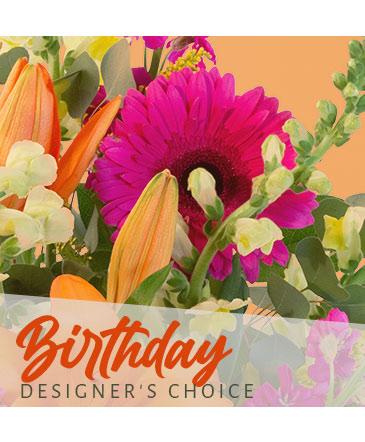 Birthday Flowers Designer's Choice