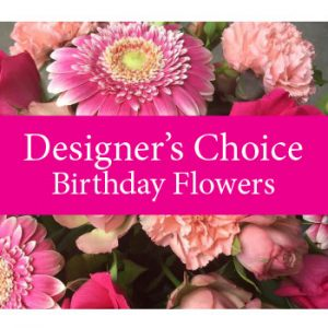 Birthday Fresh Basket/Vase/Container in Fulton, NY | DeVine Designs
