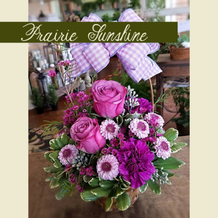 Birthday in Bloom Basket Birthday