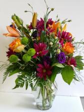 Birthday Jewel  Fresh Arrangement