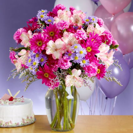 Birthday Kisses Arrangement