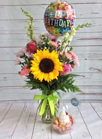 Birthday Mixed Arrangement
