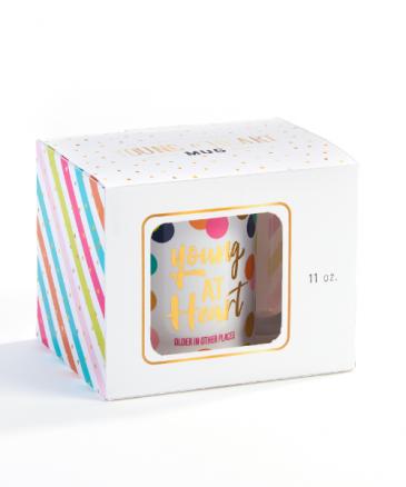 Birthday Mug w/Gift Box Gift