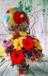 Birthday Party fresh flowers
