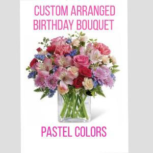 Birthday Pastels Designer's Choice in Destrehan, LA | Plantation Decor