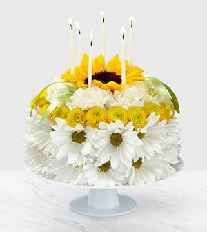 Birthday Smiles Cake Floral Cake  in Las Vegas, NV | Blooming Memory
