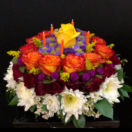 Birthday Special Cake style arrangement