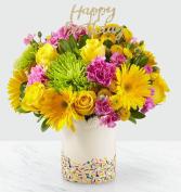 Birthday Sprinkles Bouquet birthday flowers